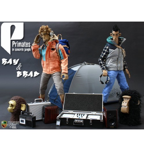 ACI TOYS x Jason Siu: Primates in Concrete Jungle Full SET